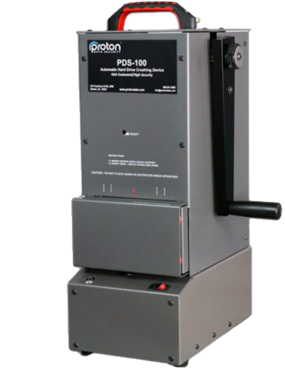 Proton PDS-100 Hard Drive Destroyer