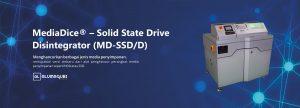 MediaDice® – Solid State Drive Disintegrator